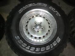 Bridgestone Dueler M/T. Грязь MT, износ: 10%, 4 шт