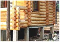 Фундамент на забивных жб сваях для частного дома за 1 день по доступно