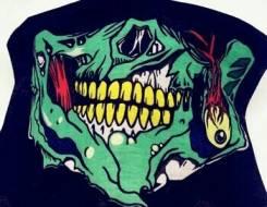 Маска череп (шарф-чулок)