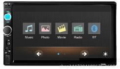 """Автомобильная магнитола 2din с сенсорным экраном 7"""""""