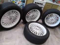 Литые диски с резиной для Prado, LexusGX, Patrol, Pajero, Terrano, Surf. 8.5x20 6x139.70 ET25
