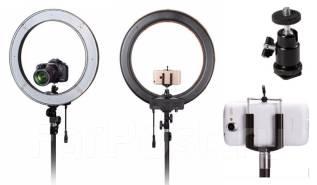 Кольцевая лампа свет, LED RING визажистам! Расширенная комплектация!