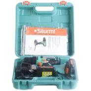 Мощный литий-ионный шуруповерт + 2 аккумулятора + красивый кейс
