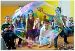 Шоу мыльных пузырей бесплатно. Клоуны, Аниматоры на Дeнь Poждeния