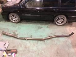 Глушитель. Nissan Silvia, S13 Nissan 180SX Двигатель SR20DET