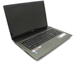 """Acer Aspire 7750ZG-B964G32Mnkk. 17.3"""", 2,2ГГц, ОЗУ 2048 Мб, диск 320 Гб, WiFi, Bluetooth, аккумулятор на 3 ч."""