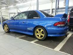 Спойлер. Subaru Impreza WRX STI, GC8
