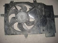 Вентилятор охлаждения радиатора. Nissan Note, E11, NE11, ZE11