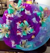 Подарок Воспитателю Учителю букет из конфет