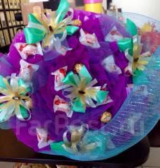 Букет из конфет, Подарки на выпускной раффаэлло