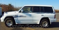 Наклейка. Mitsubishi Pajero, V68W, V78W, V60, V63W, V65W, V75W, V73W Двигатели: 4M41DI, 4M41, 6G74, 6G72, 6G74GDI