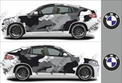 Наклейка. BMW X6