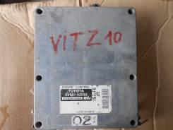 Блок управления двс. Toyota Vitz, SCP10 Двигатель 1SZFE