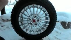 Литые диски с зимней резиной AUDI A6. 6.5x15 5x112.00 ET45