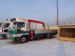 Hino Ranger. Продам бортовой грузовик с манипулятором HINO Ranger 1992 г. в. ХТС, 6 000 куб. см., 5 000 кг.