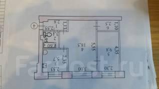 2-комнатная, Севастопольская 29. Центральный, частное лицо, 42 кв.м.