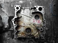 Лобовина двигателя. Toyota Estima Lucida, TCR10G Двигатель 2TZFE