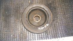 Шкив коленвала. Mitsubishi Delica Двигатель 4D56