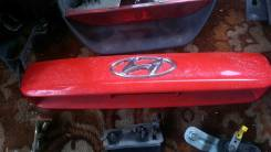Накладка на дверь багажника. Hyundai Getz