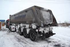Meusburger Новтрак. Самосвальный полуприцеп Новтрак Meusburger SK-24, 30 000 кг.