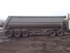 Meusburger Новтрак. Самосвальный полуприцеп Новтрак SK-352, 45 000 кг.