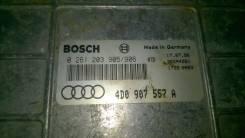 Блок управления двс. Audi A8, D2 Двигатель AEW
