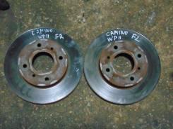 Диск тормозной. Nissan Primera Camino, WP11 Двигатель SR18DE