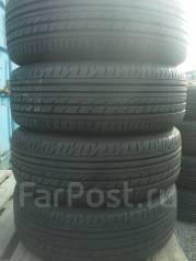 Комплект летних шин 215/65R16 Dunlop на штампованных дисках 5x100. 6.5x16 5x100.00 ЦО 56,0мм.