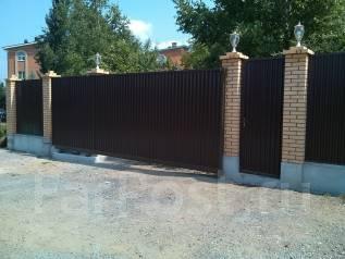 Акция ! Забор профлист 1900 руб/м. п. Ворота откатные 30 000 руб.