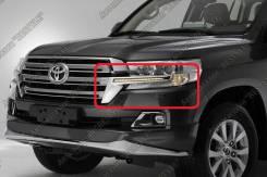 Повторитель поворота в решетку. Toyota Land Cruiser, UZJ200W, VDJ200, J200, URJ202W, GRJ200, URJ200, URJ202, UZJ200