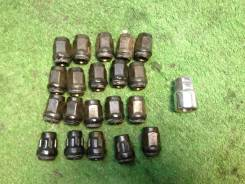 Колесные гайки секретки Subaru Legacy BG5 bd5 B11 EJ20D 98г цвет 51E. Subaru: Justy, Leone, Rex, Sambar, Forester, Impreza (GJ), Impreza (GP WGN), Imp...
