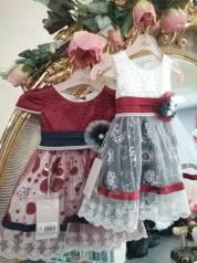 Платья. Рост: 68-74, 74-80, 80-86, 86-98 см
