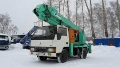 Mitsubishi Canter. Автовышку 17 метров без пробега по РФ . В Наличии, 4 214 куб. см., 17 м.