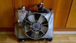 Радиатор охлаждения двигателя. Toyota: Vitz, bB, WiLL Cypha, Yaris, Echo, Raum, Porte, Funcargo, Sienta, ist, Platz, Probox Двигатели: 1NZFE, 2NZFE