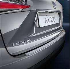 Накладка на бампер. Lexus NX200t, AGZ10, AGZ15 Lexus NX200, ZGZ15, ZGZ10 Lexus NX300h, AYZ15, AYZ10 Lexus NX200t/300H, AGZ15L, ZGZ15L Двигатель 3ZRFAE