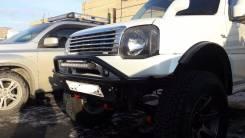 Защита бампера. Suzuki Jimny Sierra, JB43W, JB33W Suzuki Jimny, JB33W, JB43W Suzuki Jimny Wide, JB33W, JB43W