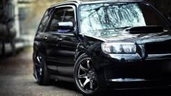 Порог пластиковый. Subaru Forester