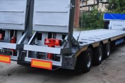 Texoms 983910. 3 оси с гидротрапами низкорамный полуприцеп новый, 40 000 кг.