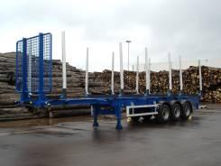 Texoms. Сортиментовоз-лесовоз texoms 38тн 3-х осный, 38 000кг.