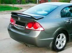 Спойлер. Honda Civic, FD2, FD1, FK2, FD3, FN1 Двигатели: K20A, R18A, R18A2, LDAMF5, DAAFD3, R18A1
