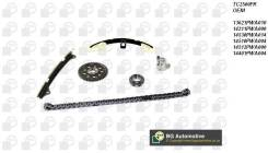 Цепь газораспределения. Honda: Jazz, Civic Hybrid, Fit Aria, Mobilio Spike, Mobilio, Airwave, Civic, Fit, City, Partner, City ZX Двигатели: L13A6, L13...