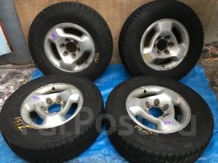 Комплект Зимних колес на Bridgestone Blizzak DM-V1+литье R16. 7.0x16 6x139.70 ЦО 100,5мм.