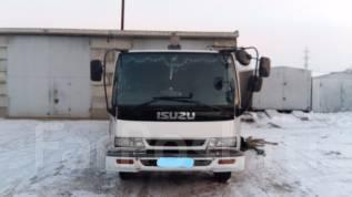Isuzu Forward. Продам грузовой-бортовой с манипулятором, 8 200 куб. см., 5 000 кг.