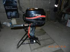 Hondex. 5,00л.с., 4х тактный, бензин, нога S (381 мм), Год: 2011 год