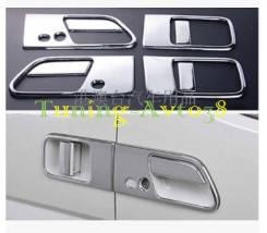 Накладка на ручки дверей. Nissan Elgrand