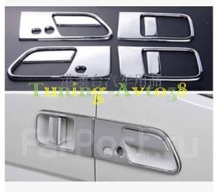 Накладка на ручки дверей. Nissan Elgrand, E51, ME51, MNE51, NE51 Двигатели: VQ25DE, VQ35DE