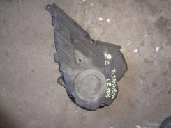 Крышка ремня ГРМ. Toyota Sprinter, CE104 Двигатель 2C