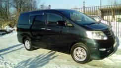 Аренда Микроавтобуса люкс класса Тойота-Альфард 2007 черного цвета