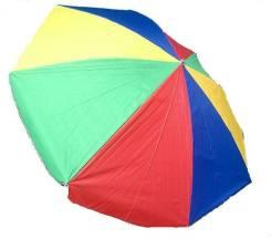 Зонт пляжный- 2,4 м разноцветный