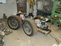 Самодельная модель. Мини-трактор (заготовка), 540 куб. см.